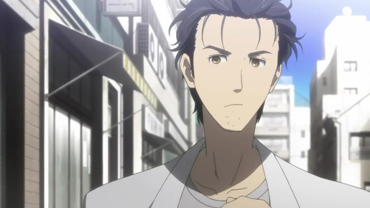 Rintarou Okabe from Steins;Gate anime