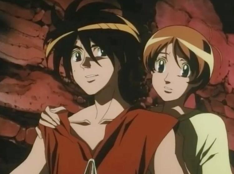 The Vision of Escaflowne anime