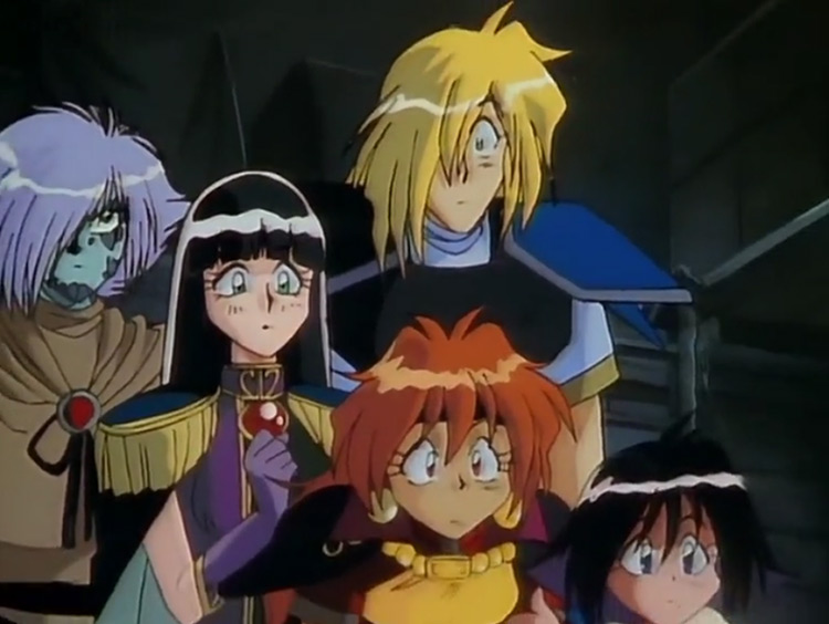Slayers 1995 anime screenshot