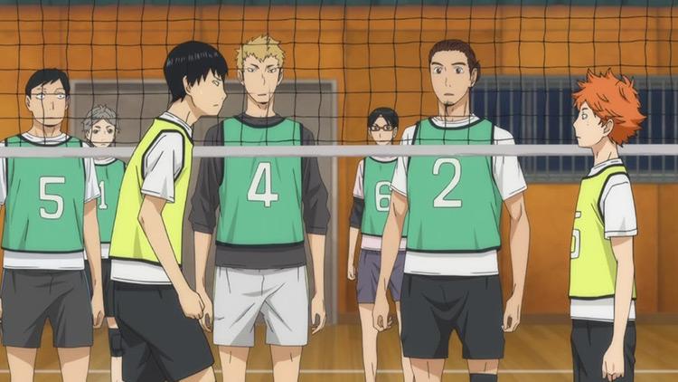 Haikyuu!! anime screenshot
