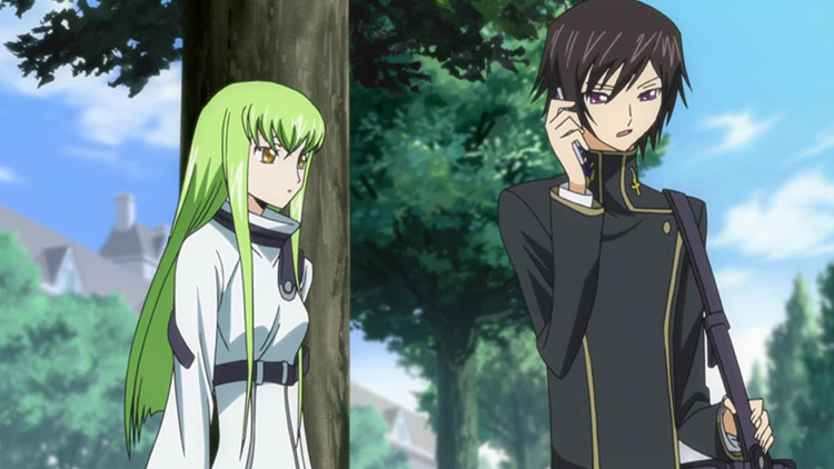 Code Geass: Lelouch of the Rebellion anime