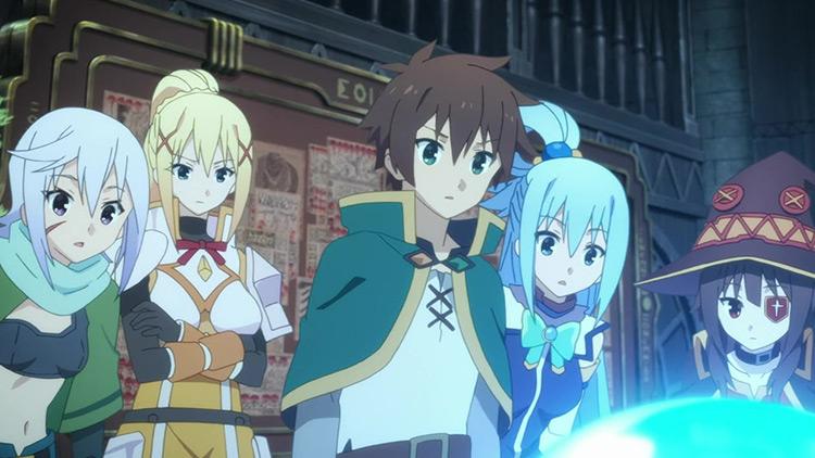 KonoSuba: God's Blessing on this Wonderful World anime