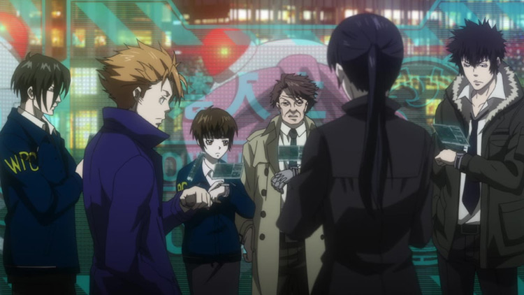 Psycho-Pass screenshot