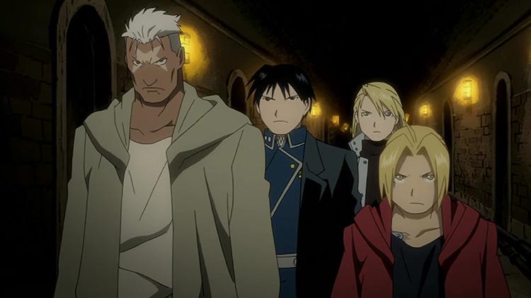 Fullmetal Alchemist: Brotherhood anime