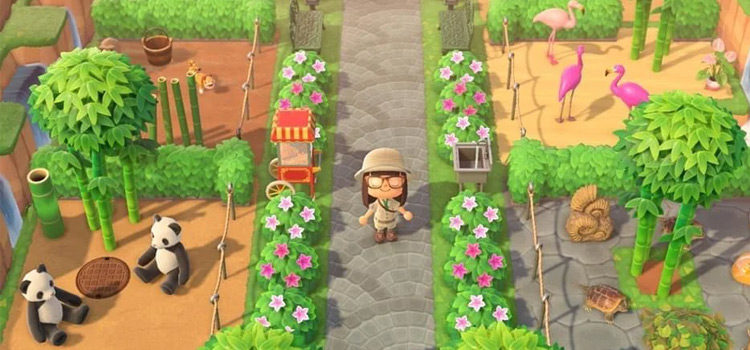 Zoo Island Design Ideas For Animal Crossing: New Horizons