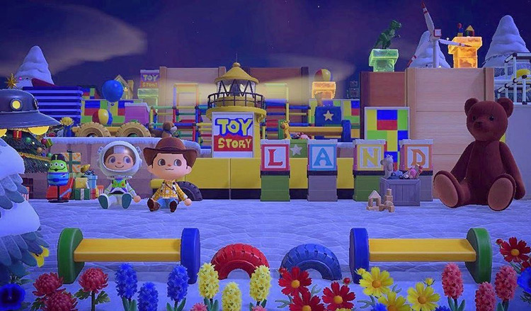 Toy Story Area Designed in ACNH