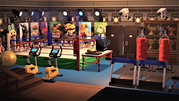 Large boxing ring idea - ACNH