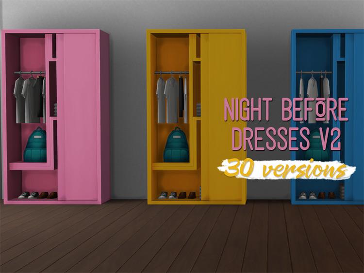 Hallway Storage Closet Upright Piece - Sims 4 Cc