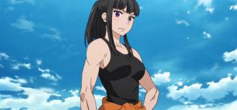 Maki Oze Musclegirl Anime Screenshot