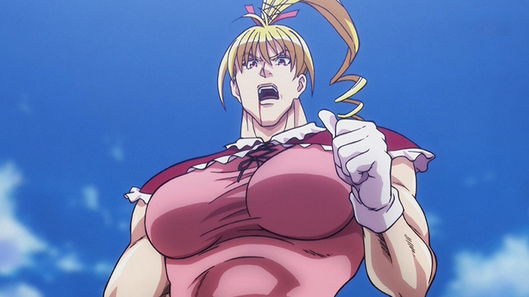 Biscuit Krueger in Hunter x Hunter anime