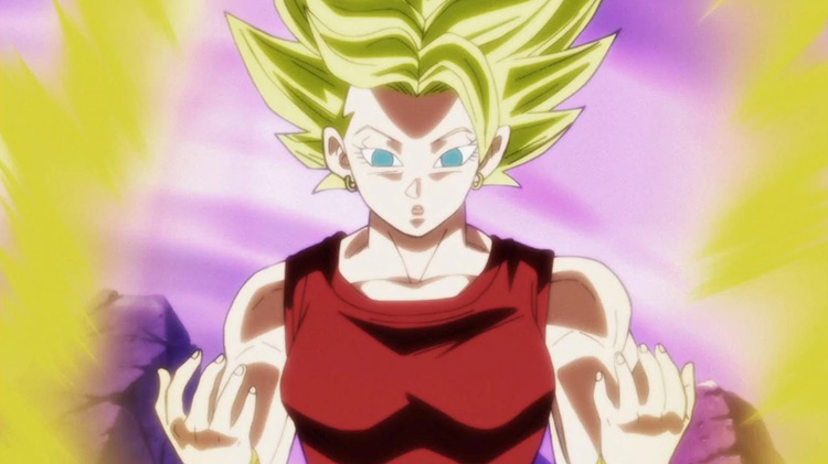 Kale Dragon Ball Super anime screenshot