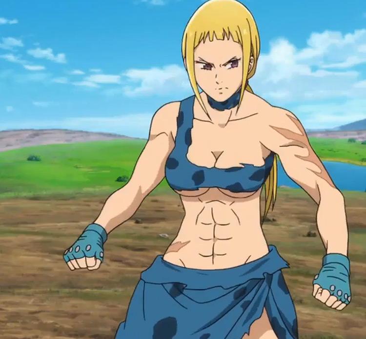 Matrona in The Seven Deadly Sins anime