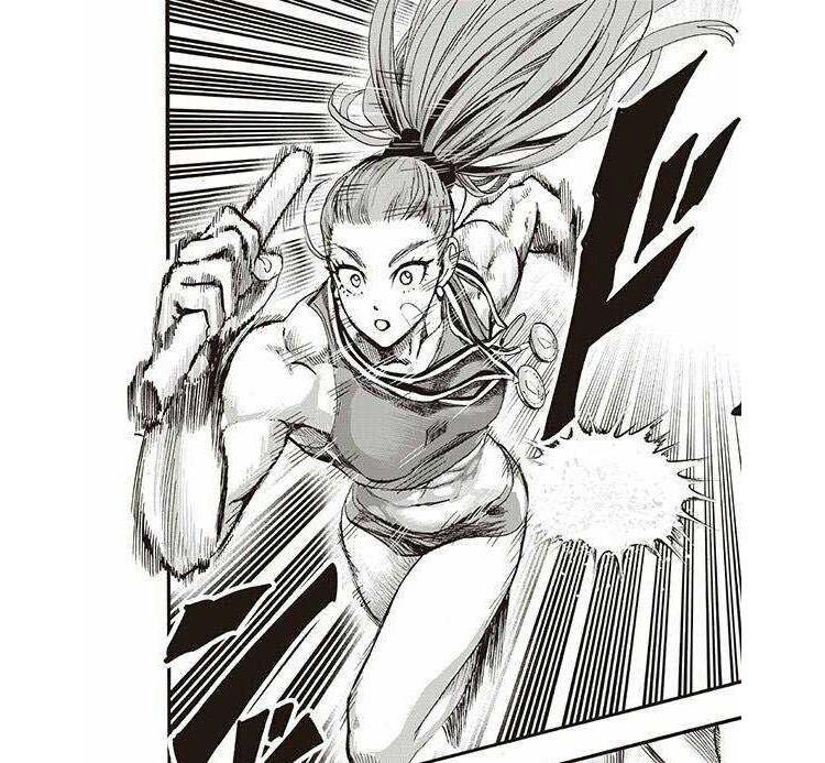 Mizuki One Punch Man anime screenshot