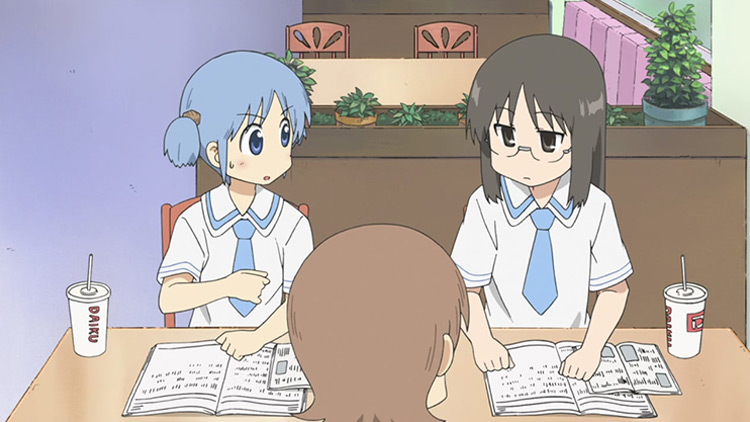 Nichijou anime screenshot