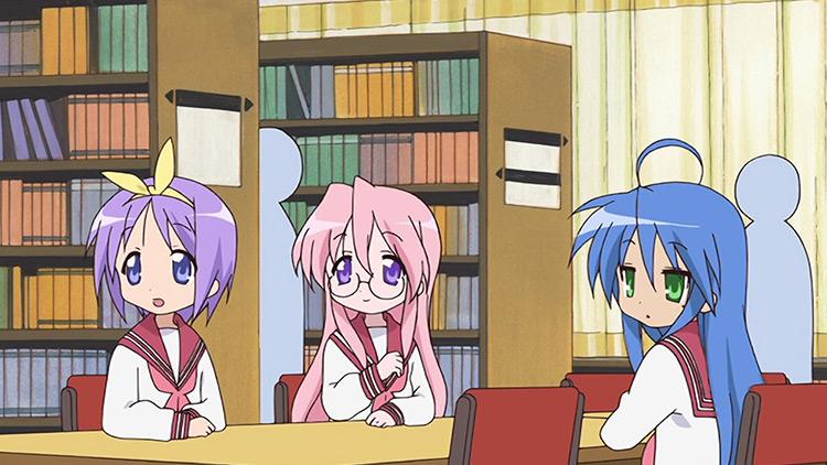 Lucky Star anime screenshot