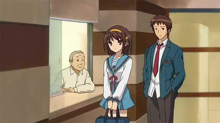 The Melancholy of Haruhi Suzumiya Kyoto Animation anime