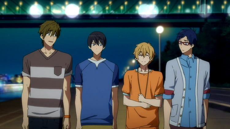 Free! anime by Kyoto Animation