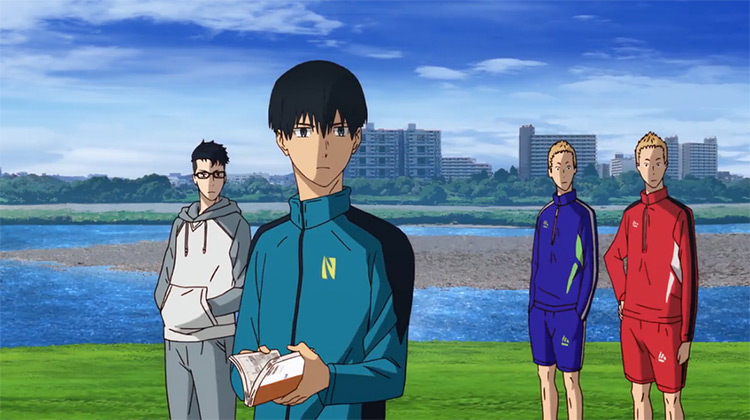 Run with the Wind anime