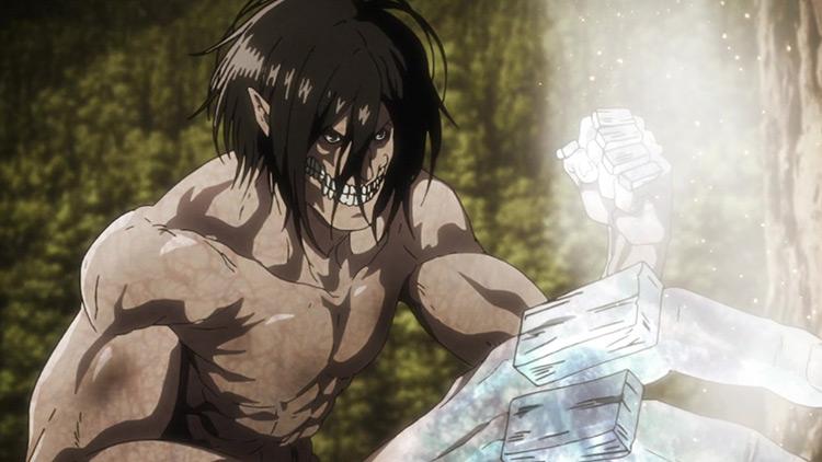 The Attack Titan from Attack on Titan anime