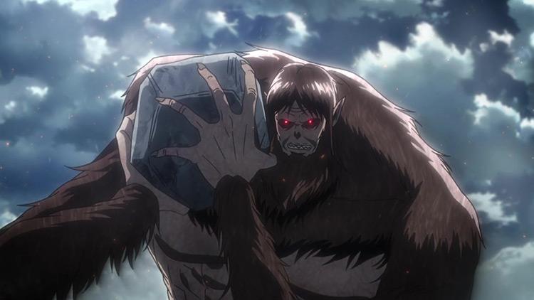 The Beast Titan from AoT anime
