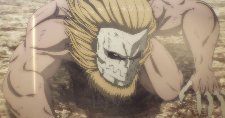 The Jaw Titan from AoT anime