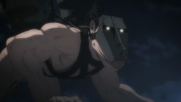 The Cart Titan Attack on Titan anime screenshot
