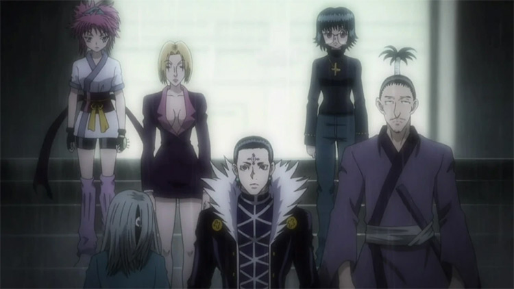 The Phantom Troupe in Hunter x Hunter anime