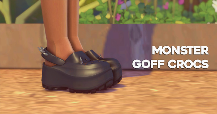 Crocs Shoes CC for The Sims 4
