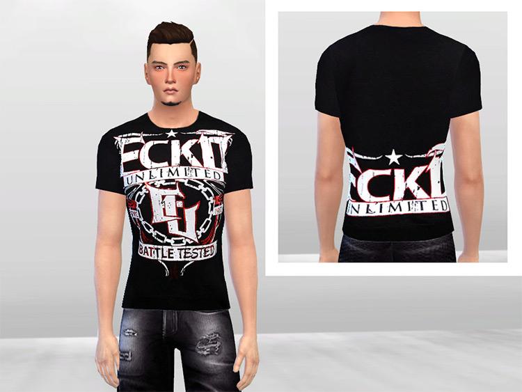 Ecko United MMA T-shirt CC - Sims 4