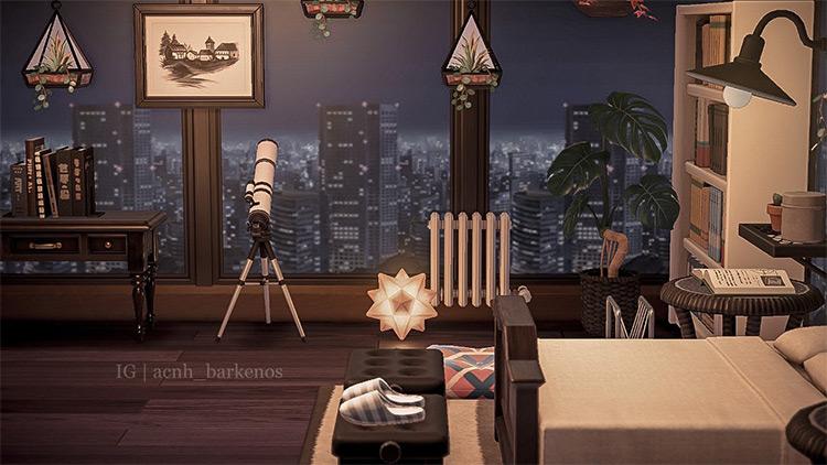 City Loft Apartment Design in ACNH