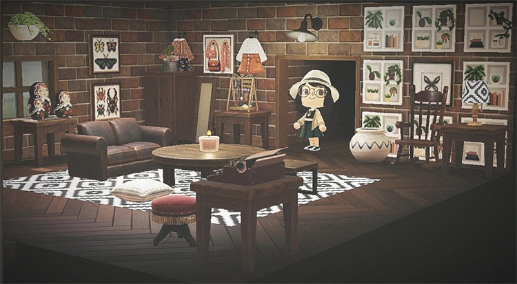 Chic Loft Apartment Idea - ACNH