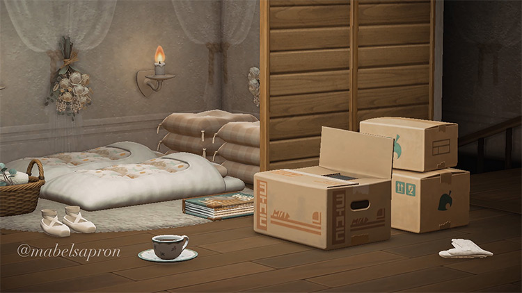 Spare Bedroom Attic Design - ACNH Idea