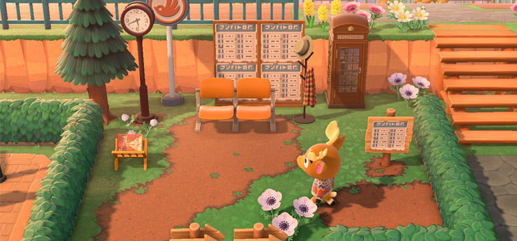 Bus Stop Design Ideas For Animal Crossing: New Horizons