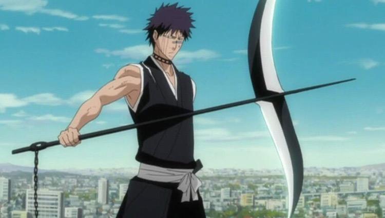 Shuhei Hisagi from Bleach anime