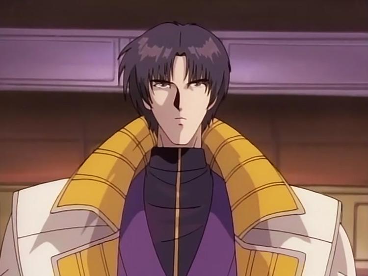 Aoshi Shinomori in Rurouni Kenshin