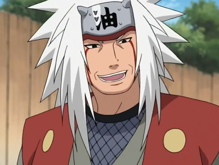 Jiraiya from Naruto anime