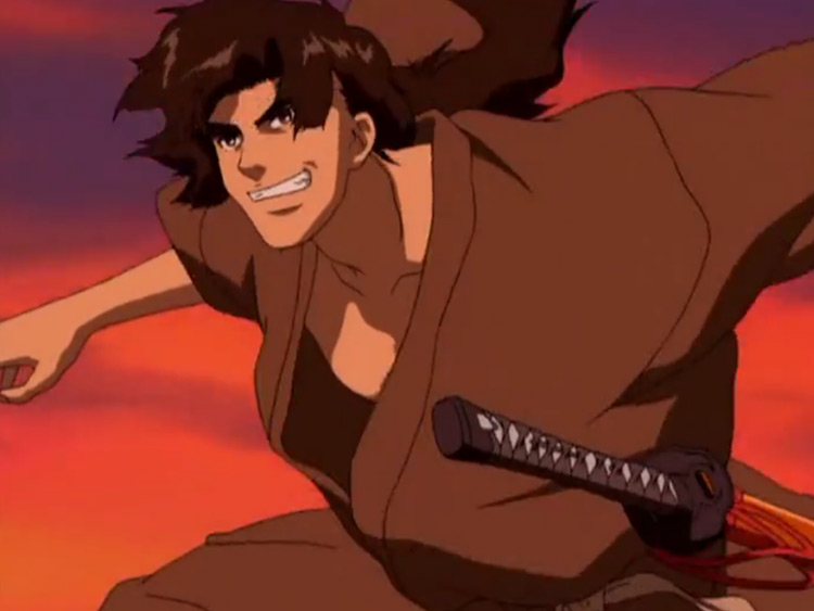 Jubei Kibagami in Ninja Scroll
