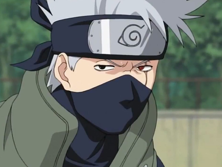 Kakashi Hatake in Naruto anime