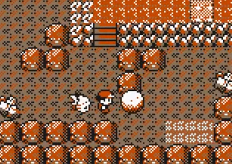 In Victory Road in Pokemon Yellow