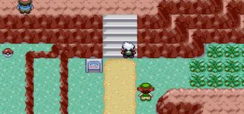 Pokemon Emerald Route Screenshot on GBA