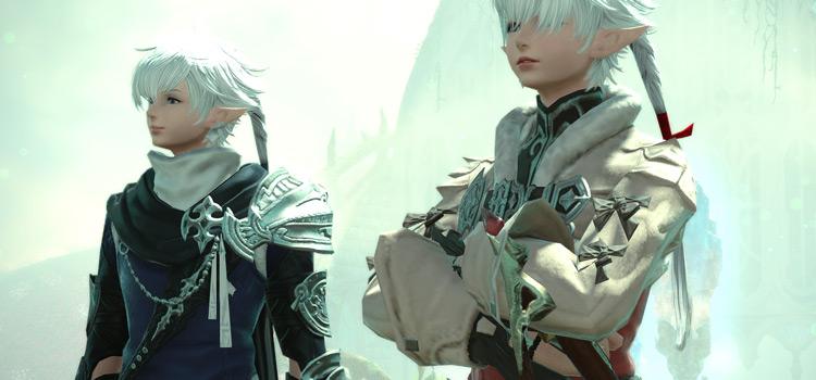 Alphinaud and Alisae Screenshot in FFXIV