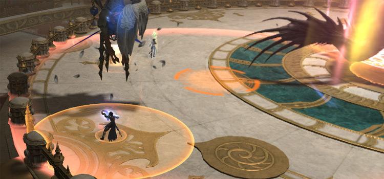 Pulsing Ground Screenshot Battle in FFXIV
