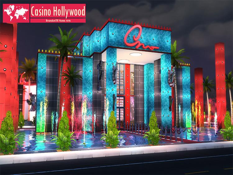 Sims 4 Casino Hollywood Lot