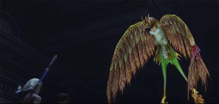 Phoenix boss fight - FF12 HD Zodiac Age