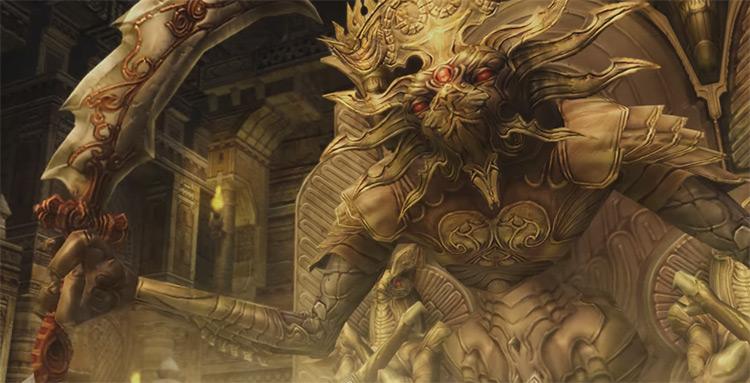 Demon Wall HD boss battle - FF12 Zodiac Age Screenshot