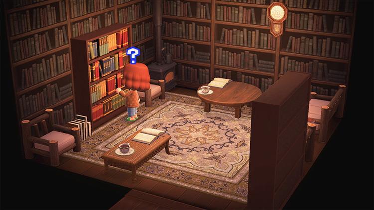 Reading Nook Cabin Idea - ACNH Idea
