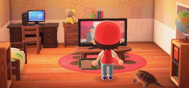 Red's Bedroom from Pokemon Gen 1 in New Horizons