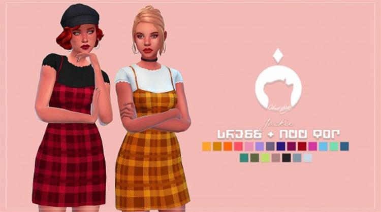Plaid checkered Jackie Dress CC
