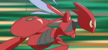 Scizor using Agility in the anime