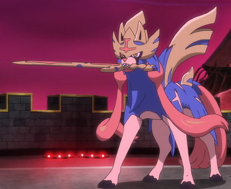 Zacian-Crowned Sword (Fairy/Steel) from Pokémon